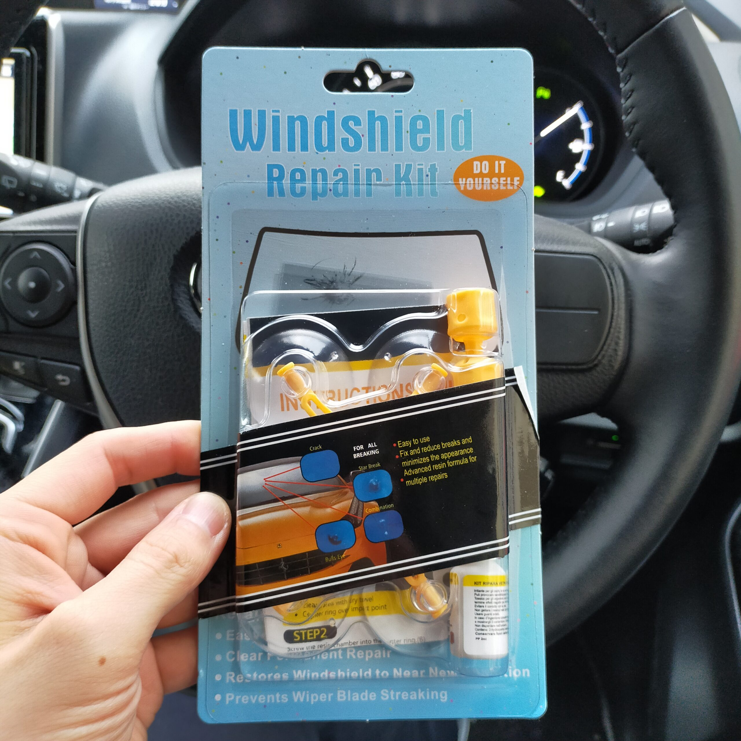 wind shield repair kit